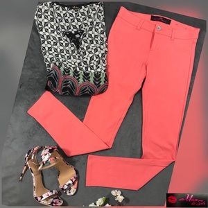 NWOT Orange sorbet stretchy pants